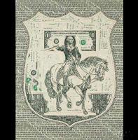arta din bancnote de 1$