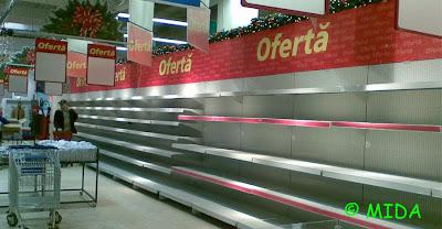 criza la supermarket