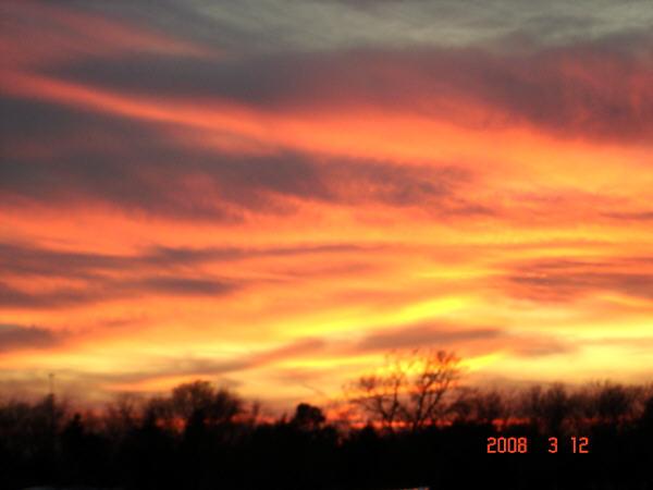 Sky's on Fire!