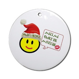 Santa's Helper Holiday Ornament