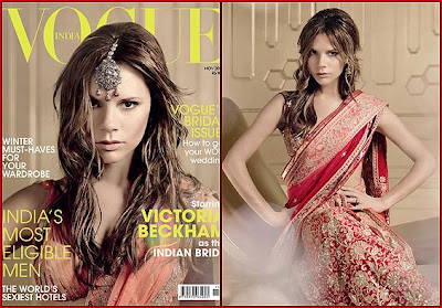 Victoria Beckham Vogue India Scans Photos