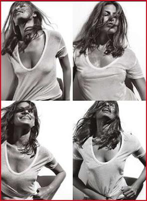 Eva Mendes Allure Magazine Scans