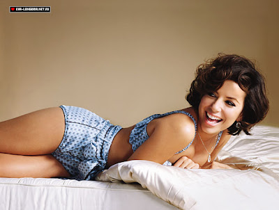Eva Longoria Glamour UK photo shoot - February 2009