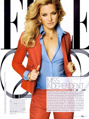 Kate Hudson Elle Magazine Scans