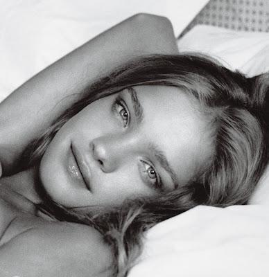 Natalia Vodianova Etam Lingerie Photoshoot