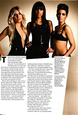 The Saturdays FHM Photo Shoot