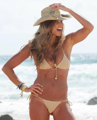 Elle Macphearson bikini photo shoot