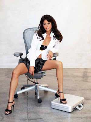 Brooke Burke lingerie photoshoot