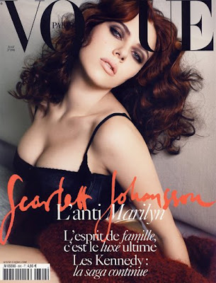 Scarlett Johansson Vogue Scans