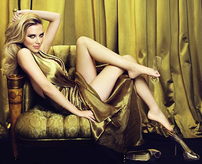 Scarlett Johansson Moet & Chandon Photoshoot