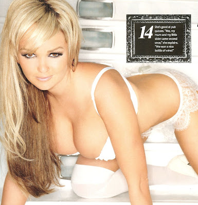 Jennifer Ellison Nuts Scans April 2009