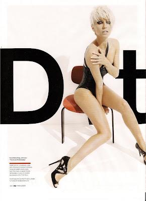 Sarah Harding GQ Magazine Scans