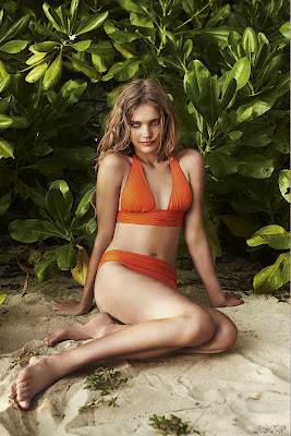 Natalia Vodianova Etam 2009 swimsuit ads