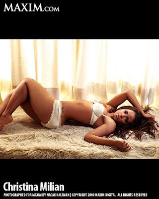 Christina Milian Maxim Scans