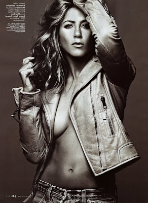 Jennifer Aniston Elle Scans