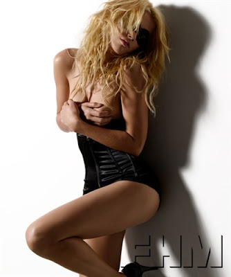 Amber Heard FHM Scans