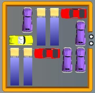 juego sacar el coche: