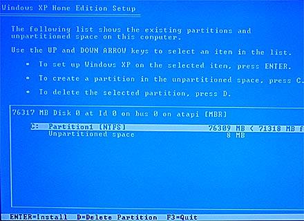 Formatando PC 6