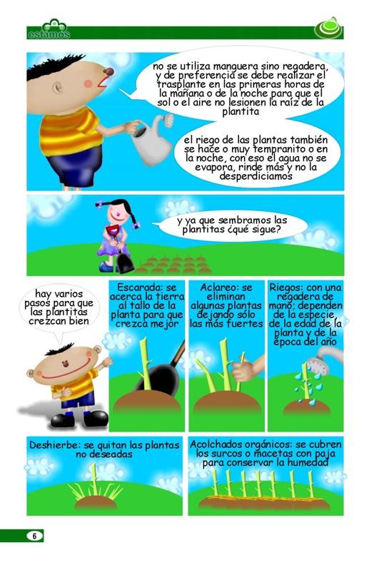 Patricia monreal dise o dise o comic sobre huertos familiares for Diseno sobre
