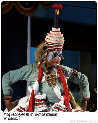 KeechakaVadham - Bheery by Kottackal Balanarayanan