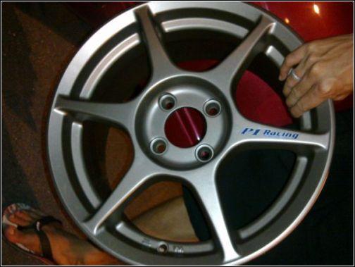 EY Wheels: P1 Racing