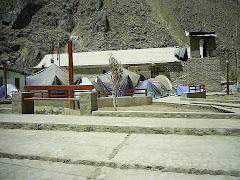 Plaza de Armas despues del Sismo