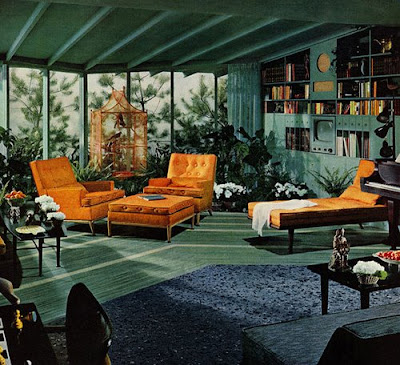 ATOMIC SPLENDOR 1950S RANCH INTERIOR