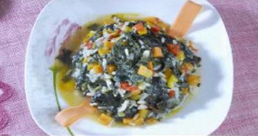 Zeytinyağlı Ispanak Yemeği