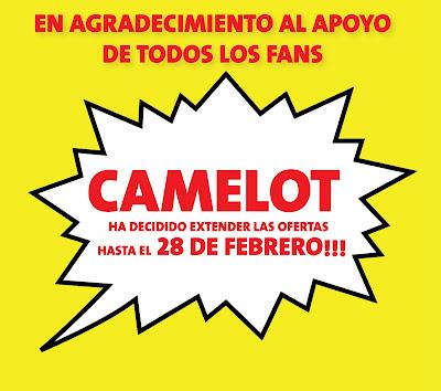 El cierre de Camelot el 31 de Enero Oferta+camelot