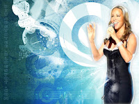 Mariah carey singing wallpaper