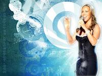 Mariah carey singing wallpaper