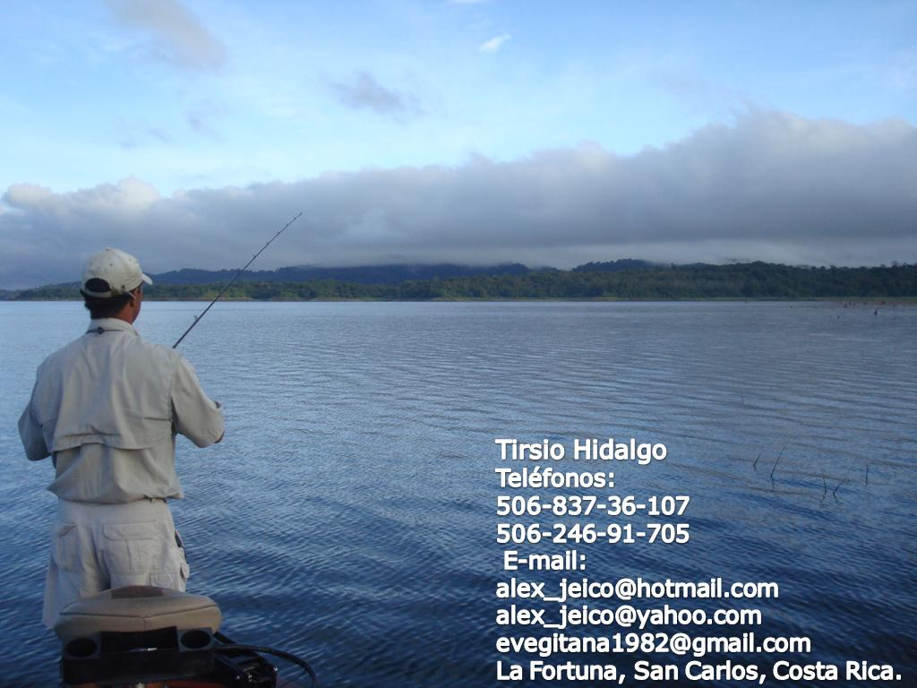 Sport Fishing Lake Arenal