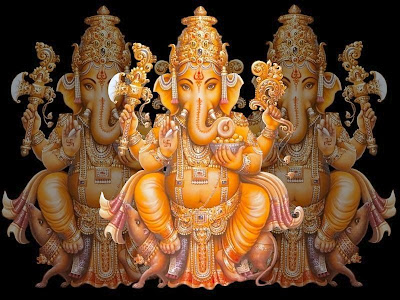 Image : Hindu God Ganpati wallpaper , Black background , Transparent images
