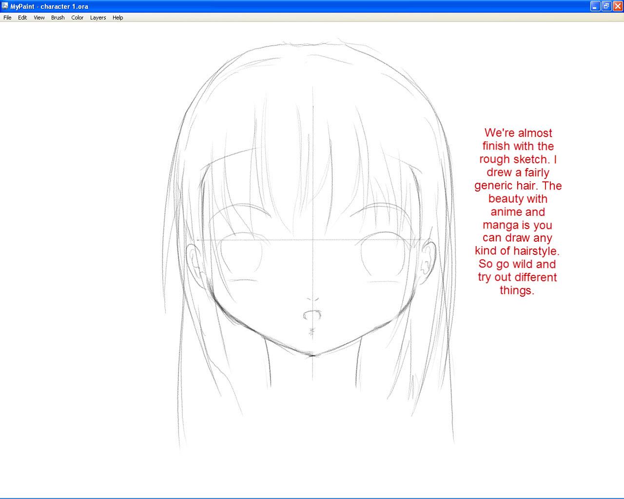 Anime Hair Side View - Hot Girls Wallpaper