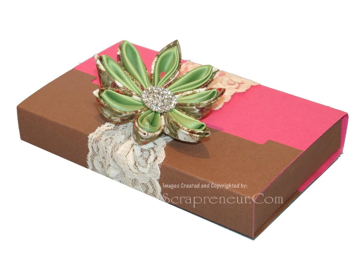 12 Days of Handmade Christmas Gifts - Day 1 ( Japanese Chocolate Box ...