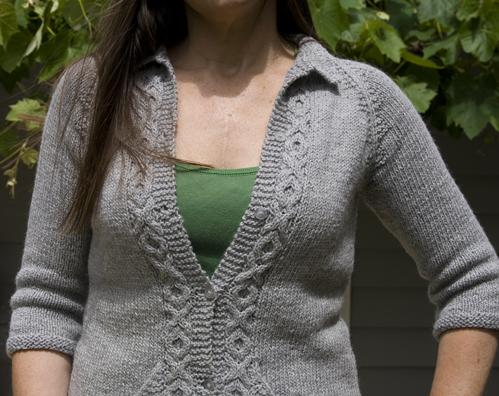ABC Knitting Patterns - Baby Seamless Cardigan.