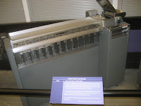 Punch Card Sorter at the Computer History Museum