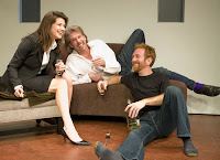 Daphne Zuniga, Howard Swain and Aaron Davidman in SF Playhouse comedy The Scene