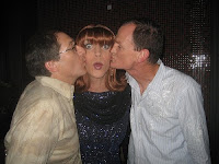 Miss Coco Peru with GuyDads at Badlands in Sacramento