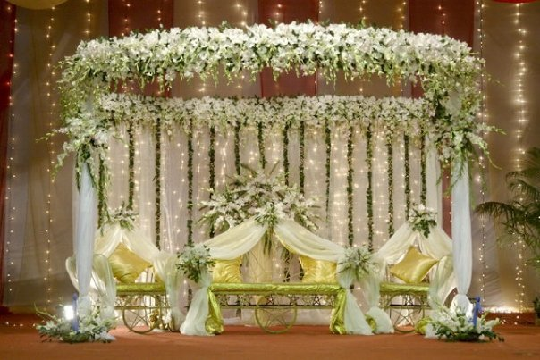 Bangladesh design wedding stage for Sample wedding decorations