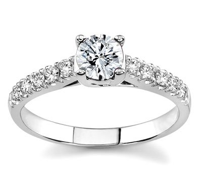 gold engagement rings for women