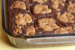 Çikolatalı Kurabiye Hamur Brownies