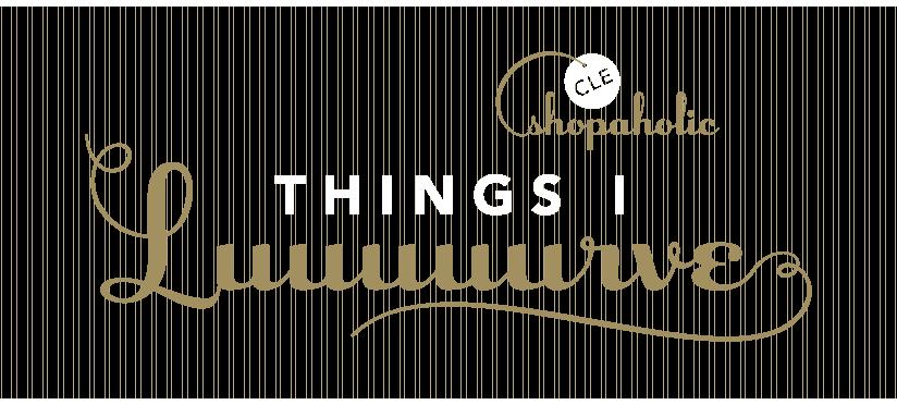 Things I Luuuuurve