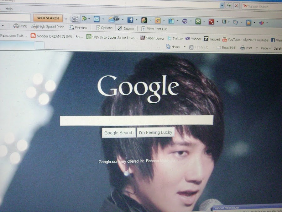 my google homepage!