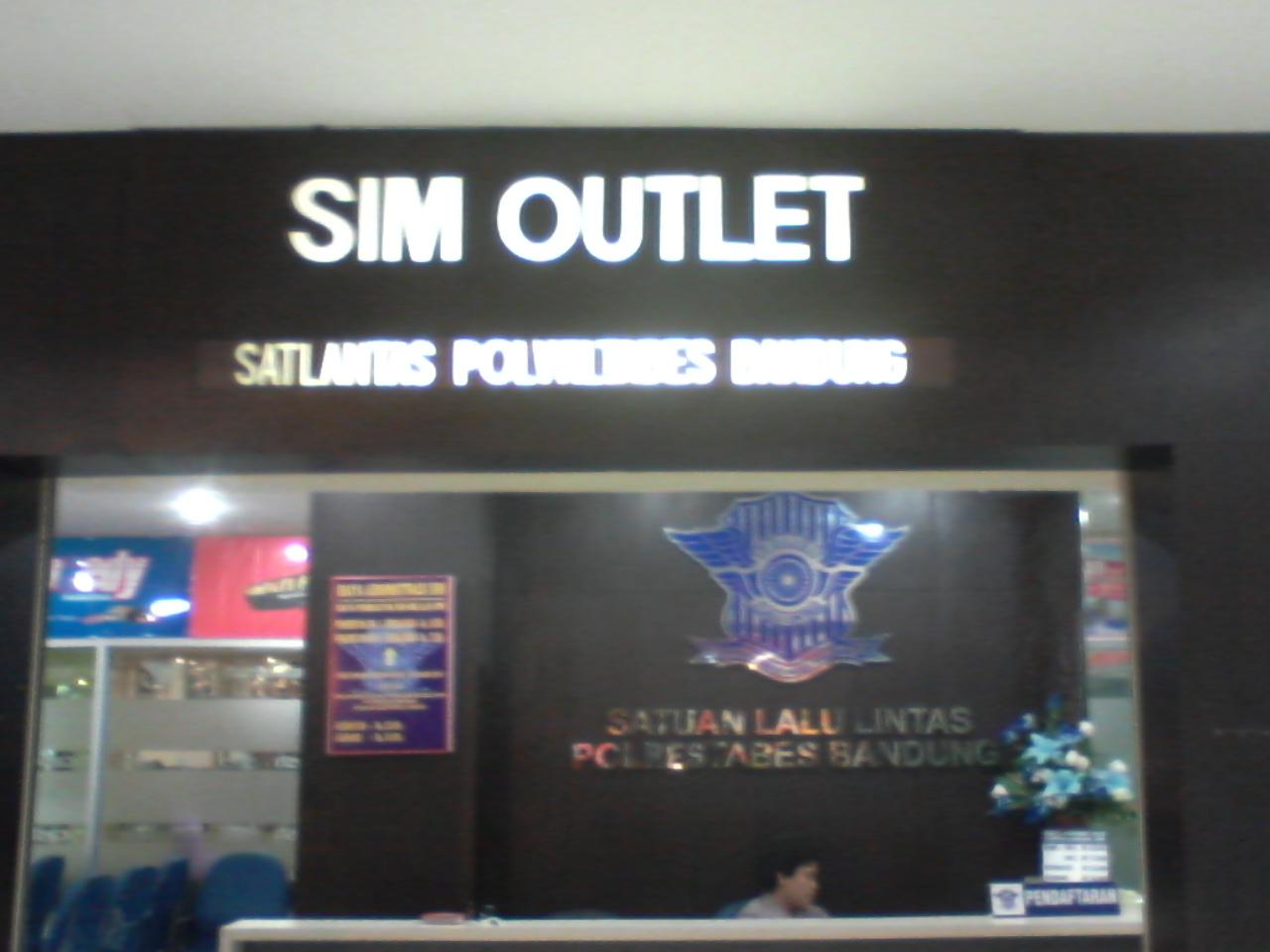 Lokasi Outlet SAMSAT di Bandung