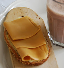 kakao  brdskive med brunost