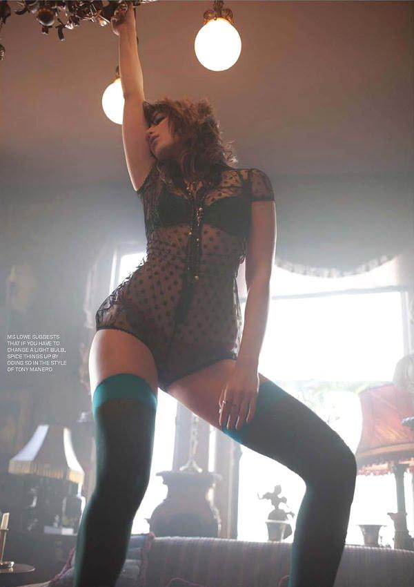 daisy lowe esquire. Esquire British Daisy Lowe