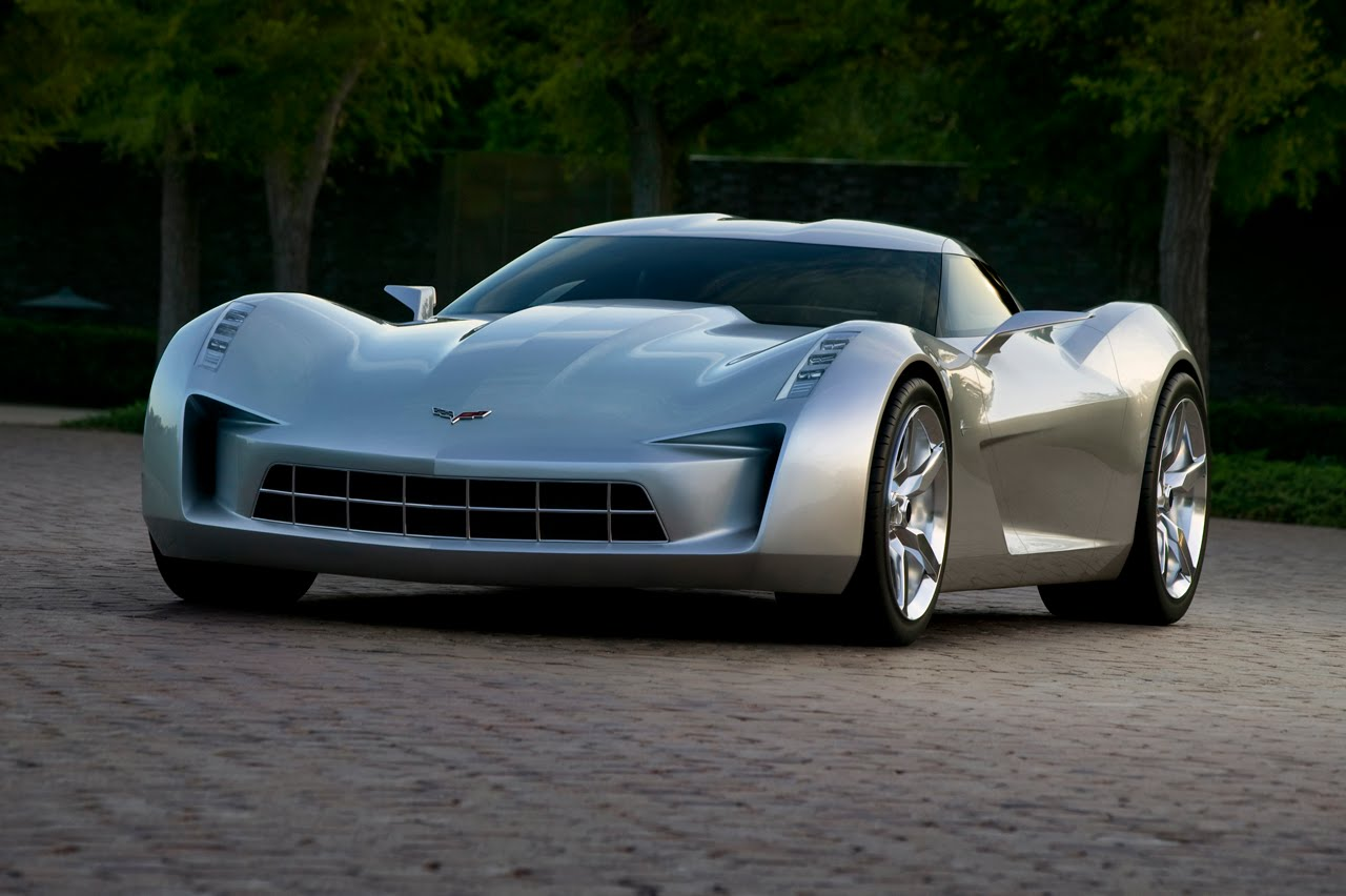 Emm Pronounced Edoublem Chevrolet Corvette Stingray 50th Anniversary Concept Car