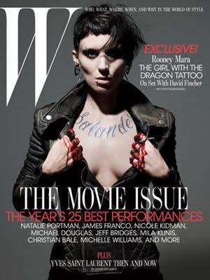 Rooney Mara W Magazine