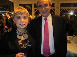 *Morgane BRAVO & Pr Bernard DEBRE Ancien Ministre, Député de Paris, 16ème Arrondissement (Nord) et